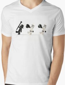 Star Wars the Musical Mens V-Neck T-Shirt