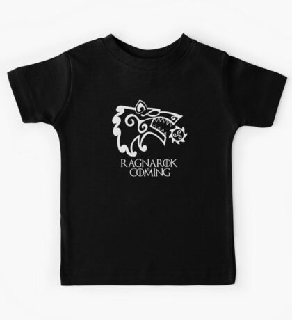Ragnarok is Coming (redesign) Kids Tee