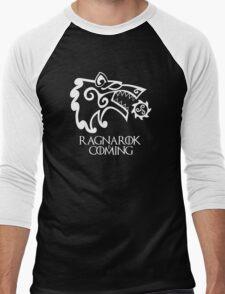 Ragnarok is Coming (redesign) Men's Baseball ¾ T-Shirt