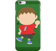 Villager ♂ - Super Smash Bros. iPhone Case/Skin