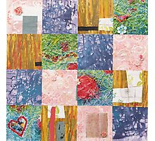 Patchwork quilt Photographic Print