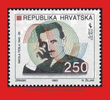 Tesla Stamp (Croatia) One Piece - Long Sleeve