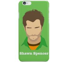 Psych Shawn Spencer Equiptment iPhone Case/Skin