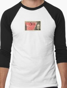 Tesla Stamp (Czechoslovakia) Men's Baseball ¾ T-Shirt