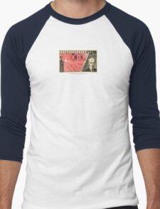 Tesla Stamp (Czechoslovakia) Men's Baseball ¾ T-Shirt