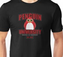Penguin University - Red 2 Unisex T-Shirt