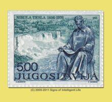 Tesla Stamp (Yugoslavia) II Kids Clothes