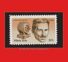 Tesla Stamp (United States) One Piece - Long Sleeve