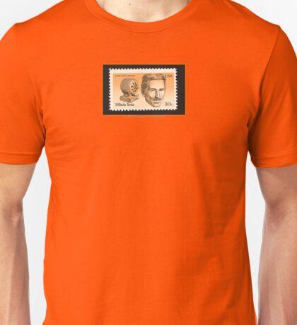 Tesla Stamp (United States) Unisex T-Shirt