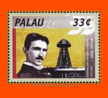 Tesla Stamp (Palau) Kids Clothes