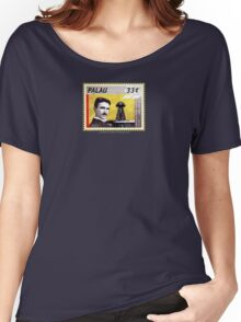 Tesla Stamp (Palau) Women's Relaxed Fit T-Shirt