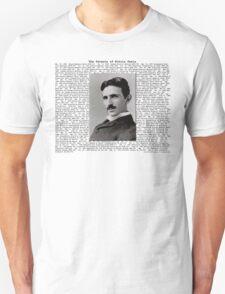 The Patents of Nikola Tesla Unisex T-Shirt