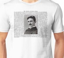 The Patents of Nikola Tesla Unisex T-Shirt