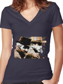 The Best Women's Fitted V-Neck T-Shirt