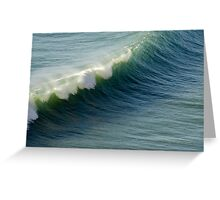 Rolling in - Piha, NZ Greeting Card