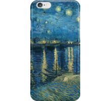 Vincent Van Gogh - Starry Night on the Rhone iPhone Case/Skin