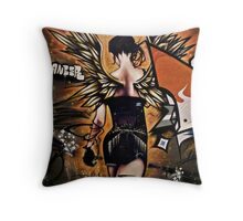 Fiery Angel Throw Pillow
