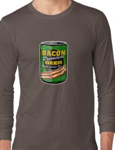 Jamaican Beer Can Long Sleeve T-Shirt