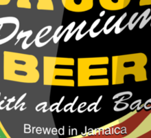 Jamaican Beer Can Sticker