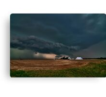 The End of the World over Farmer John's Place Canvas Print