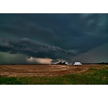 The End of the World over Farmer John's Place Photographic Print