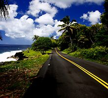 Road to Kalapana by Lee Gunderson