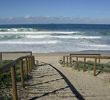 Budgewoi Beach, NSW Australia by Sharon Williams