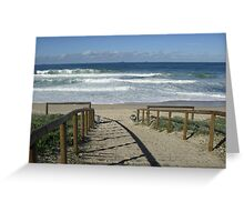 Budgewoi Beach, NSW Australia Greeting Card