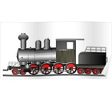 Steam engine Poster