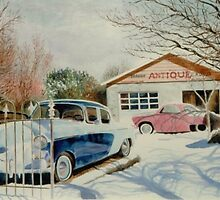 """""""BROUGH ANTIQUE - Nephi, Utah"""" by Spenceartist"""