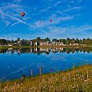 Reflecting Hot Air...Balloons by Roschetzky
