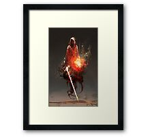 Acolyte of Embers Framed Print