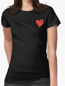 VW Kombi small loveheart/vw logo  T-Shirt