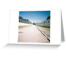 Dachau Concentration Camp (Diani Mini) Greeting Card