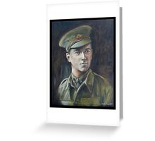 NORMAN BOWLY-WW1 Greeting Card