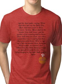 The Holy Hand Grenade of Antioch Tri-blend T-Shirt