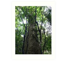 """Forest Giant in """"The Brush"""" Art Print"""