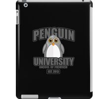 Penguin University - Grey 2 iPad Case/Skin