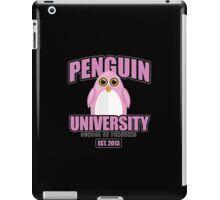 Penguin University - Pink 2 iPad Case/Skin