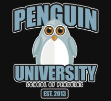 Penguin University - Blue 2 One Piece - Long Sleeve