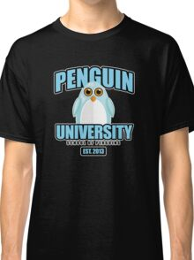 Penguin University - Blue 2 Classic T-Shirt