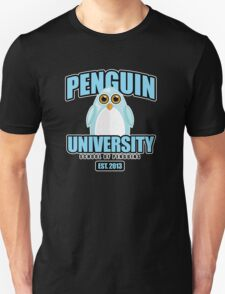 Penguin University - Blue 2 Unisex T-Shirt