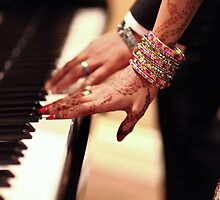 Playing the tune of love! by naureen bokhari