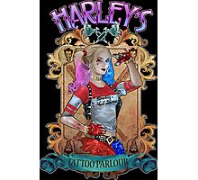 Harley's Tattoo Parlour Photographic Print