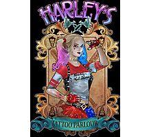 Harley's Tattoo Parlour Photographic Print