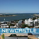 Scenic Newcastle by reflector