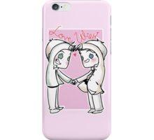 Destiel - Love Wins iPhone Case/Skin
