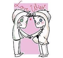 Destiel - Love Wins Photographic Print