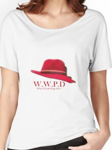 What Would Peggy Do? Women's Relaxed Fit T-Shirt