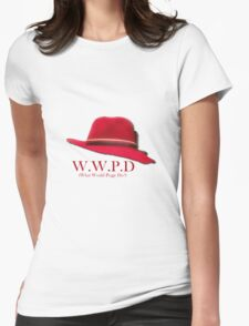 What Would Peggy Do? Womens Fitted T-Shirt